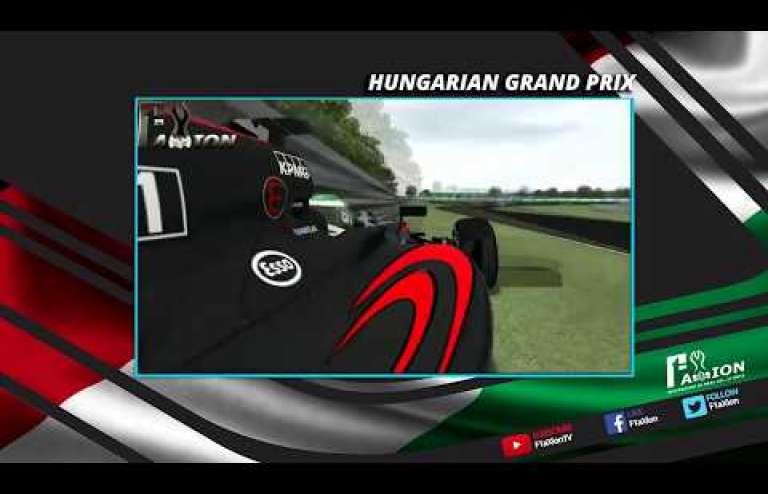 Round 10 Hungarian GP 29.1.2018