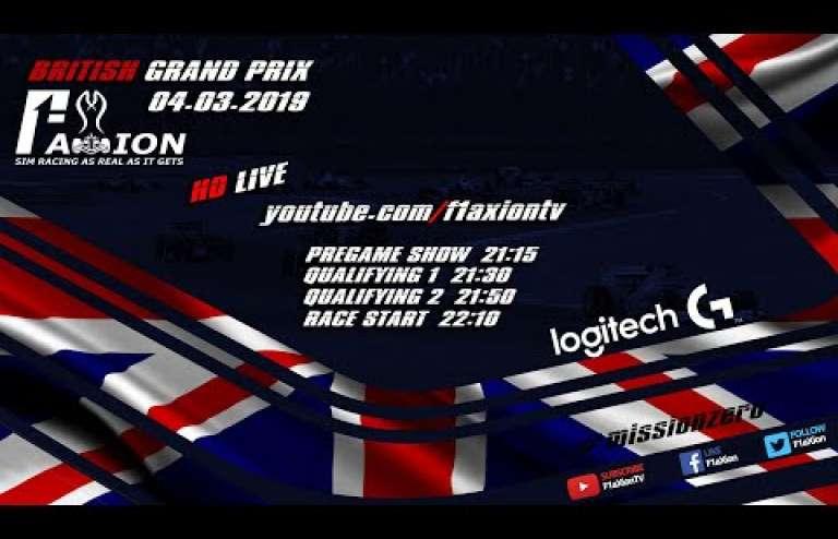 Round 8 British GP 2019