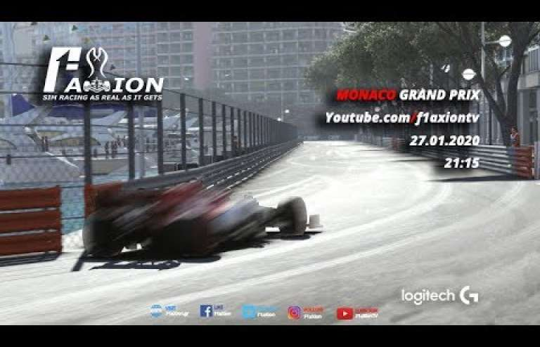 Round 5 Monaco GP 2020