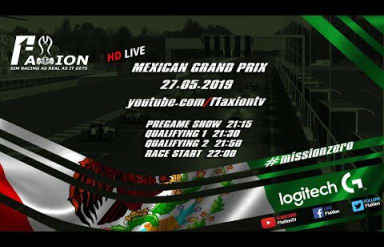 Round 16 Mexican GP 2019
