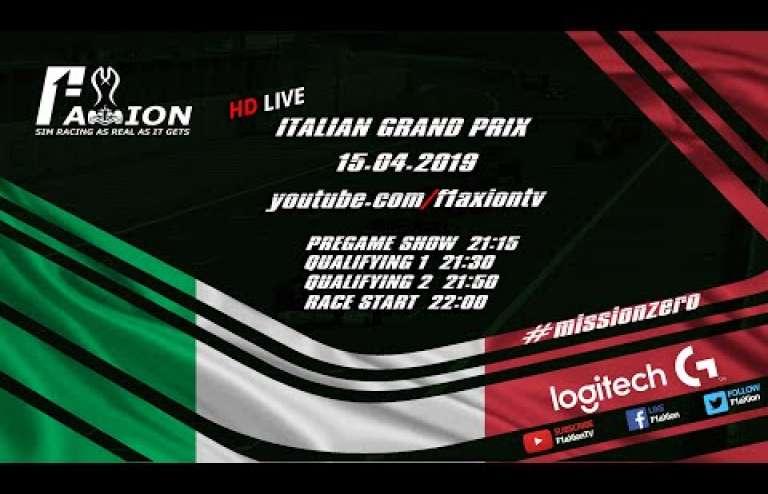 Round 12 Italian GP 2019