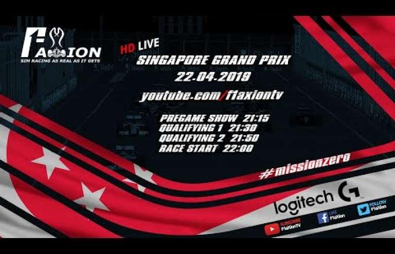 Round 13 Singapore GP 2019
